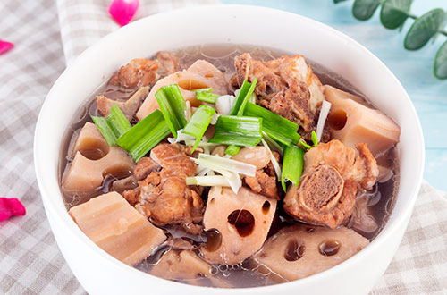 The Soup of Pork Ribs and Lotus Root