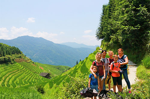 Family Trip to China