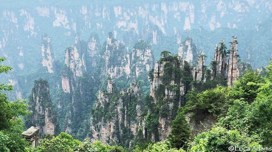 Zhangjiajie Avatar Mountains Photography