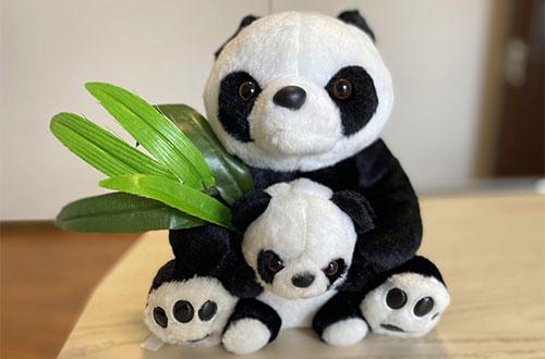 Cute Stuffed Pandas