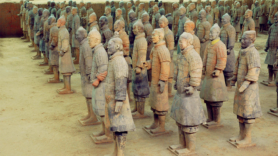 Terracotta Warriors Photography