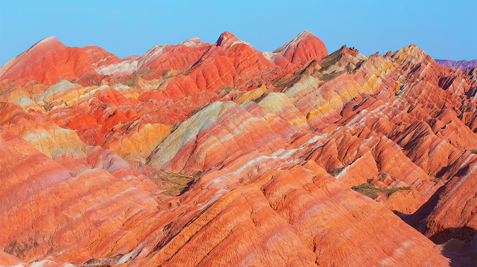 Zhangye Rainbow Mountains Photography