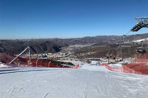Fulong Ski Resort in Zhangjiakou