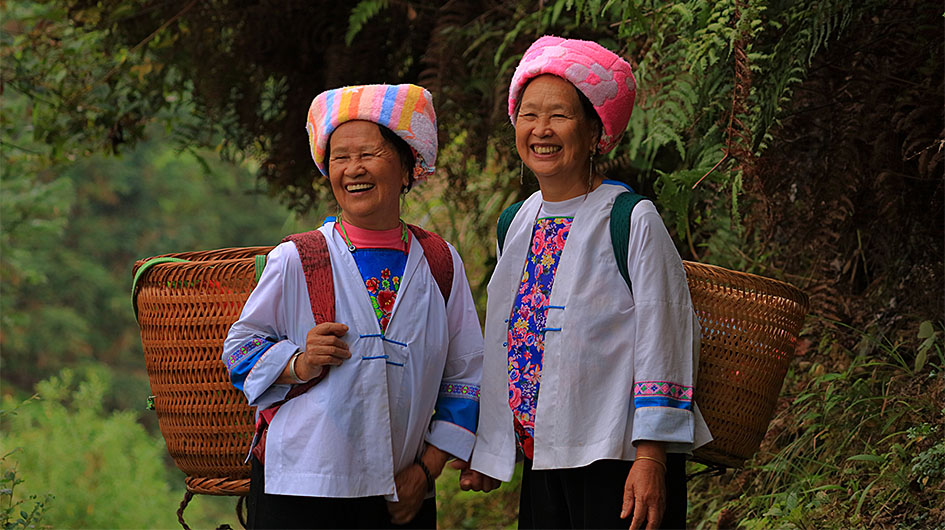 the zhuang people