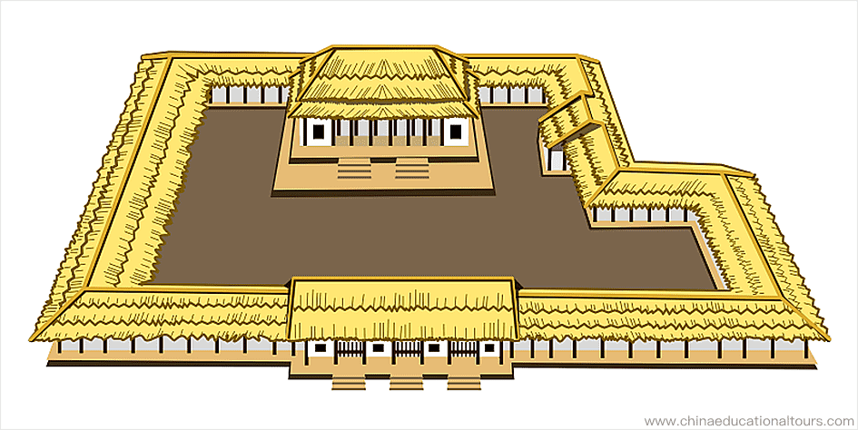 the construction in the Xia dynasty