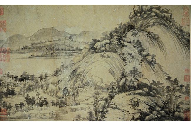 dewelling in fuchun mountain