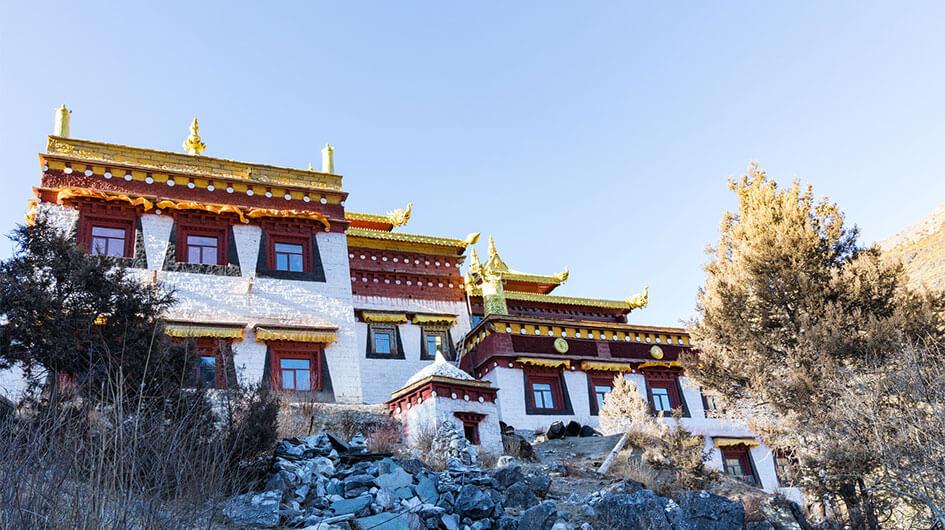 the Chonggu Monastery