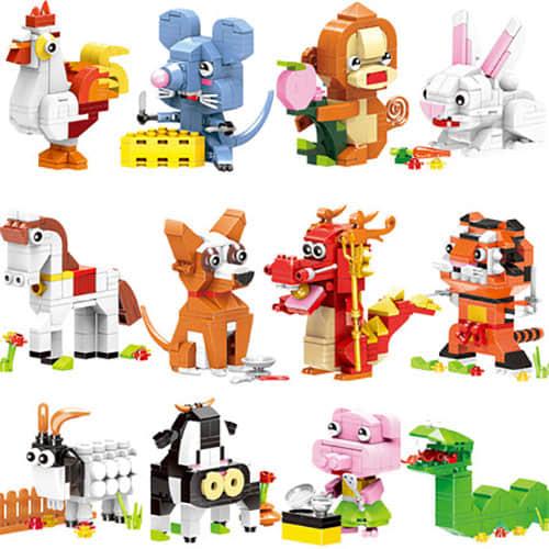 Lego 12 Chinese zodiac