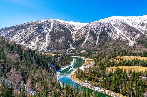 the kanas river